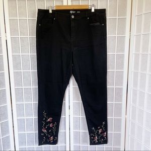 Style & Co Ankle Black Jeans Size 16